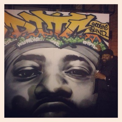 lord finesse grafitti pic