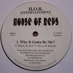 house of reps single